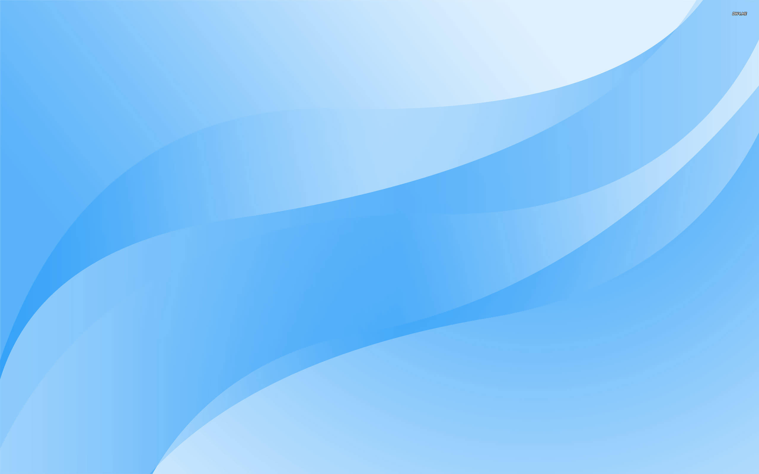 Free Baby Blue Curves Background