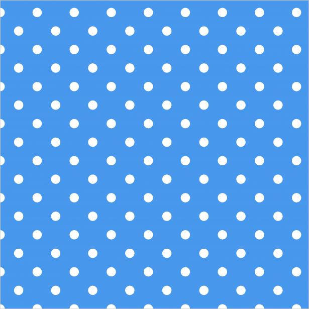Free Blue Polka Dot Background