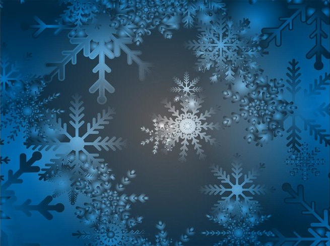 Free Blue Snow Gradient Background