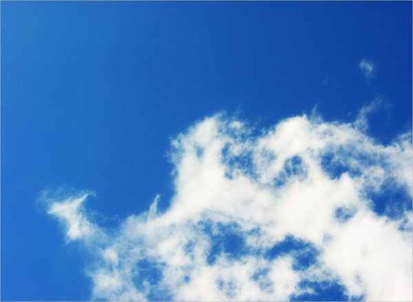 Free Blue & White Clouds Background