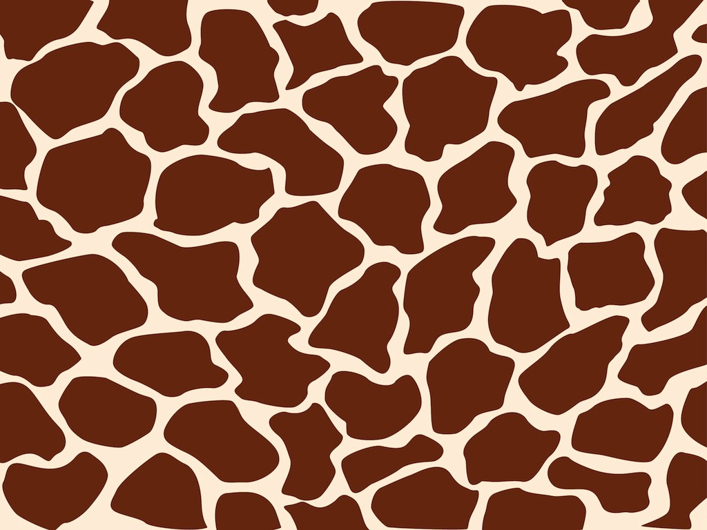 Free Brown Giraffe Pattern