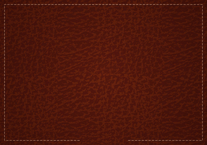 Free Brown Leather Vector Pattern