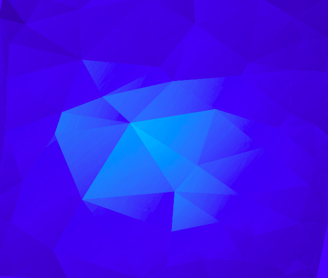 Free Cool Blue Triangle Blue Background