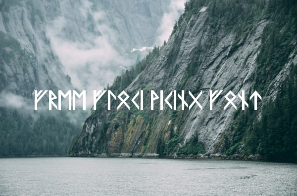 Free Floki Viking Font