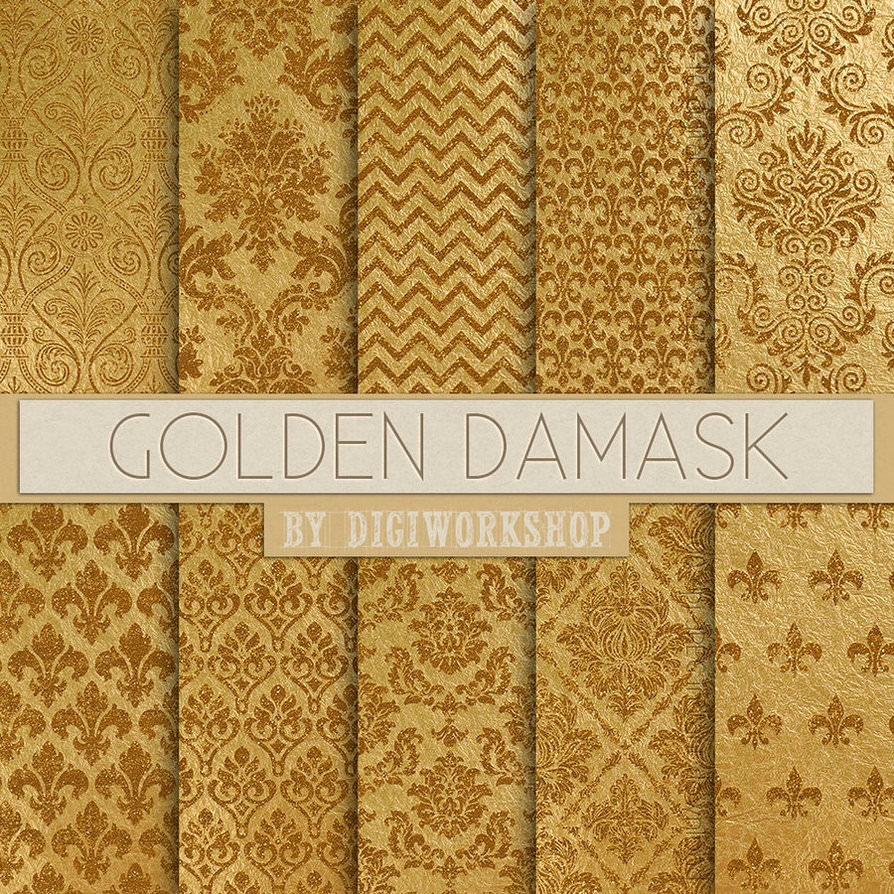 Free Gold Damask Patterns