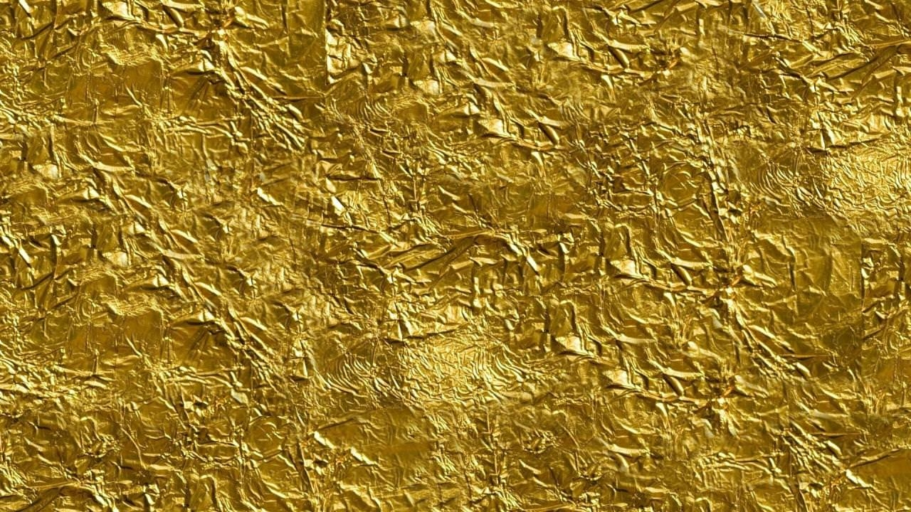 Free Gold Foil Texture Wallpaper