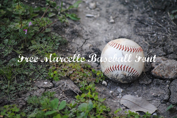 Free Marcelle Baseball Font For You