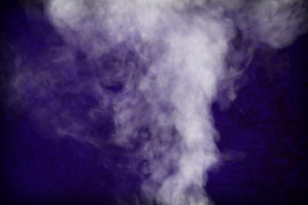 Free Navy Blue Smokey Background