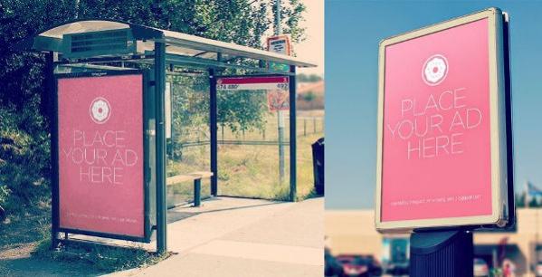 Free PSD City Outdoor Billboard Mockups