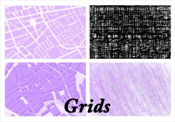 Free Photoshop Grid Brushes
