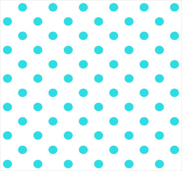 Free Printable Blue Polka Dots Background