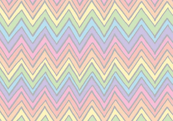 Free Rainbow Chevron Pattern
