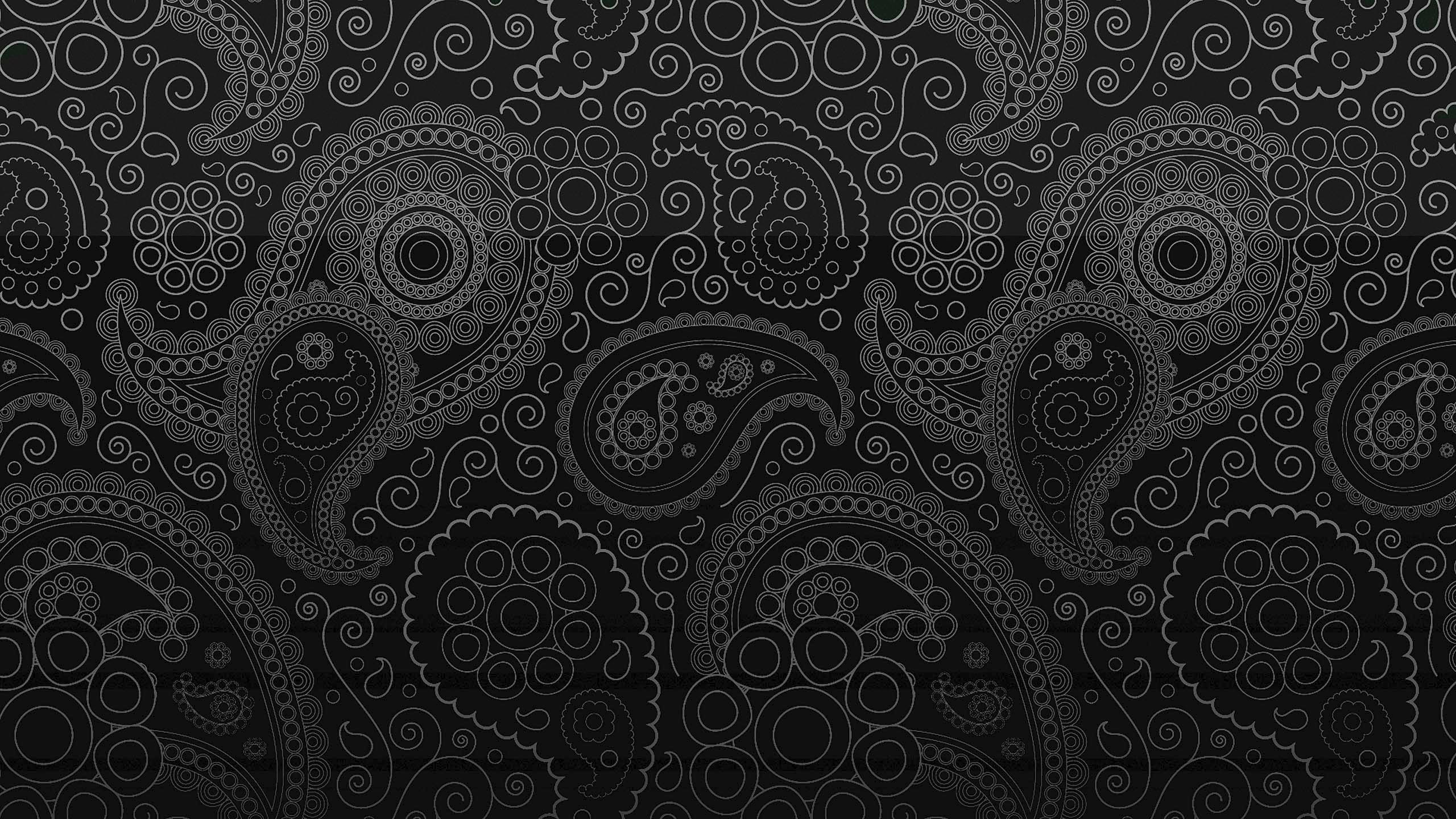 Free Vector Black Pattern