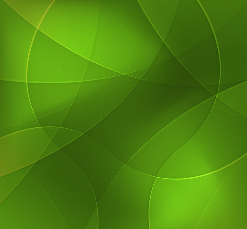 Free Vector Green Circles Background
