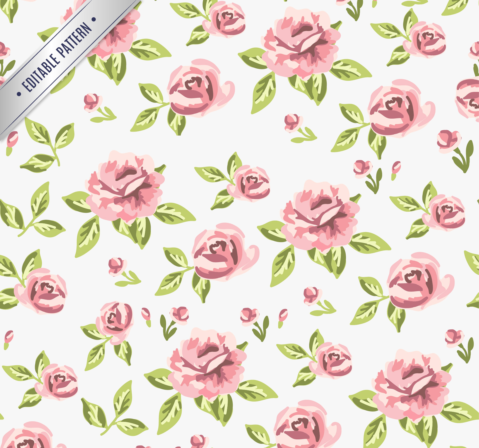1000+ images about ༺♥༻Floral Pattern background and fresh ... |Vintage Floral Rose Pattern