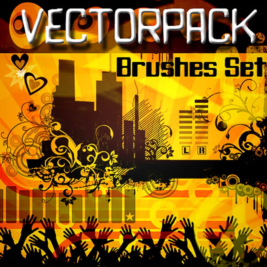 Free Vector Photoshop Brushes Pack