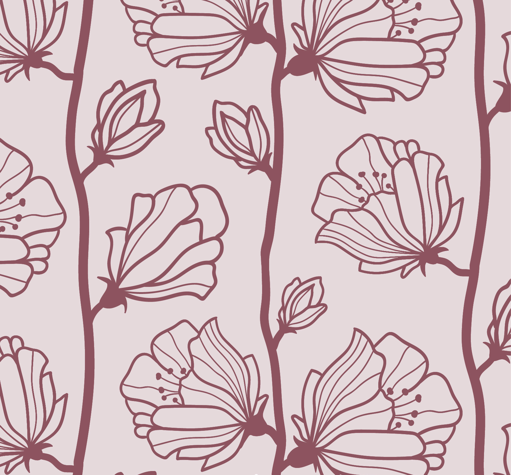 Free Vintage High Quality Floral Pattern