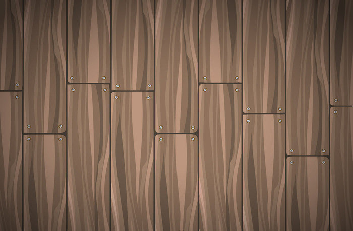Free Wooden Planks Vector Background