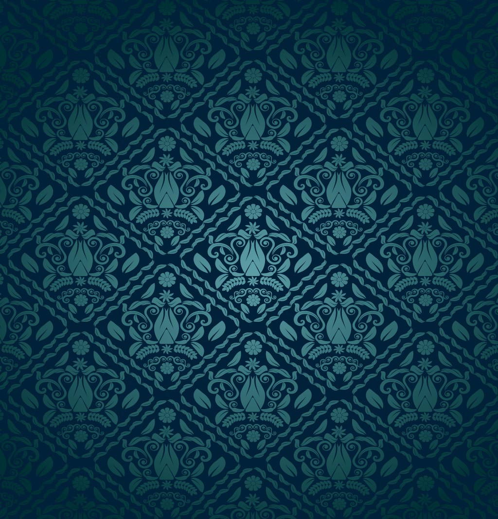 FreeVector-Blue-Green-Decorative-Pattern
