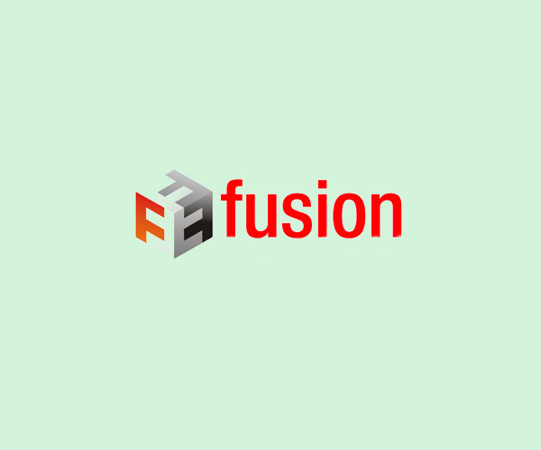 Fusion Isometric Logo For Free