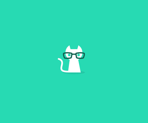 Geek Puss Logo Design For Free