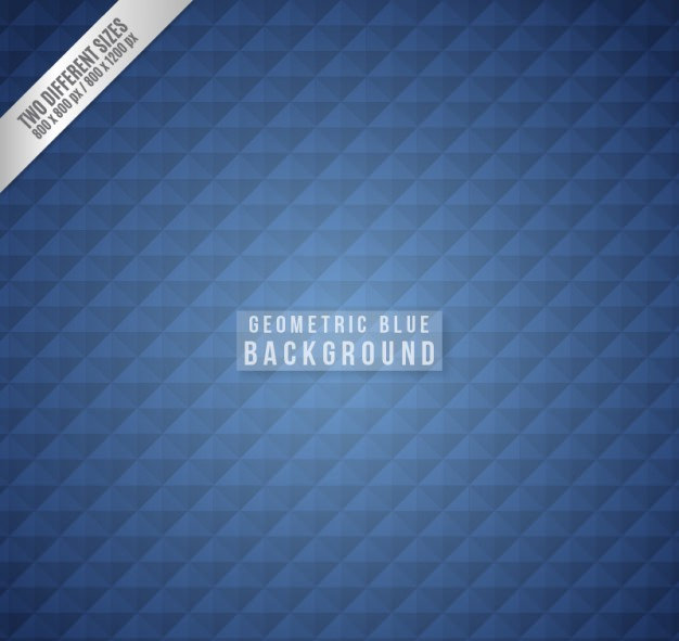 Geometric Navy Blue Background Free Vector
