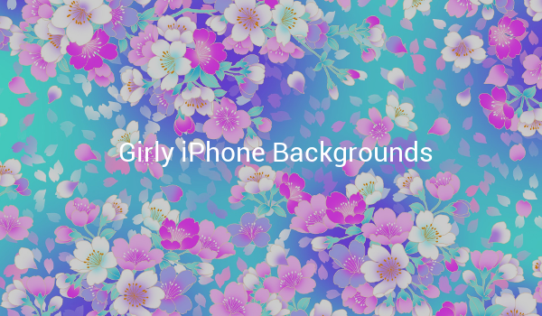 Girly iPhone Backgrounds