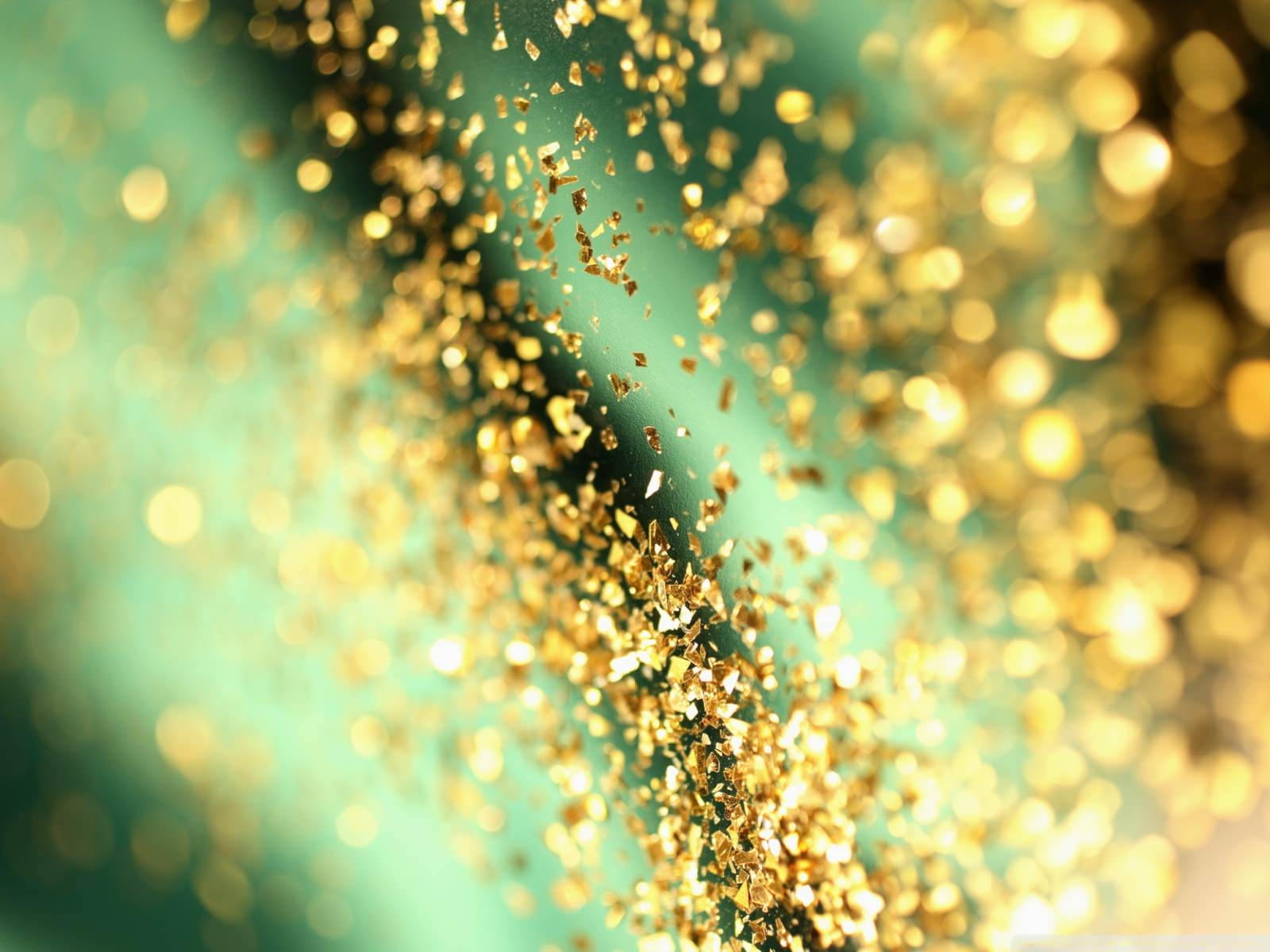 Glitter Bokeh Wallpaper Background
