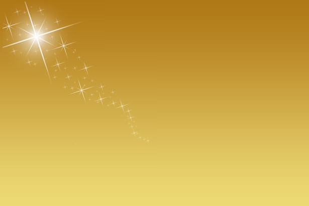 Golden Background with Sparkles