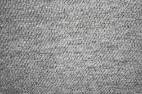 Gray Heather Knit T-Shirt Fabric Texture