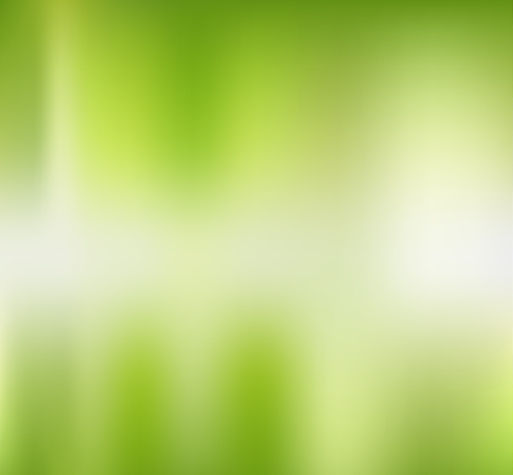 Green Background in Blurred Style