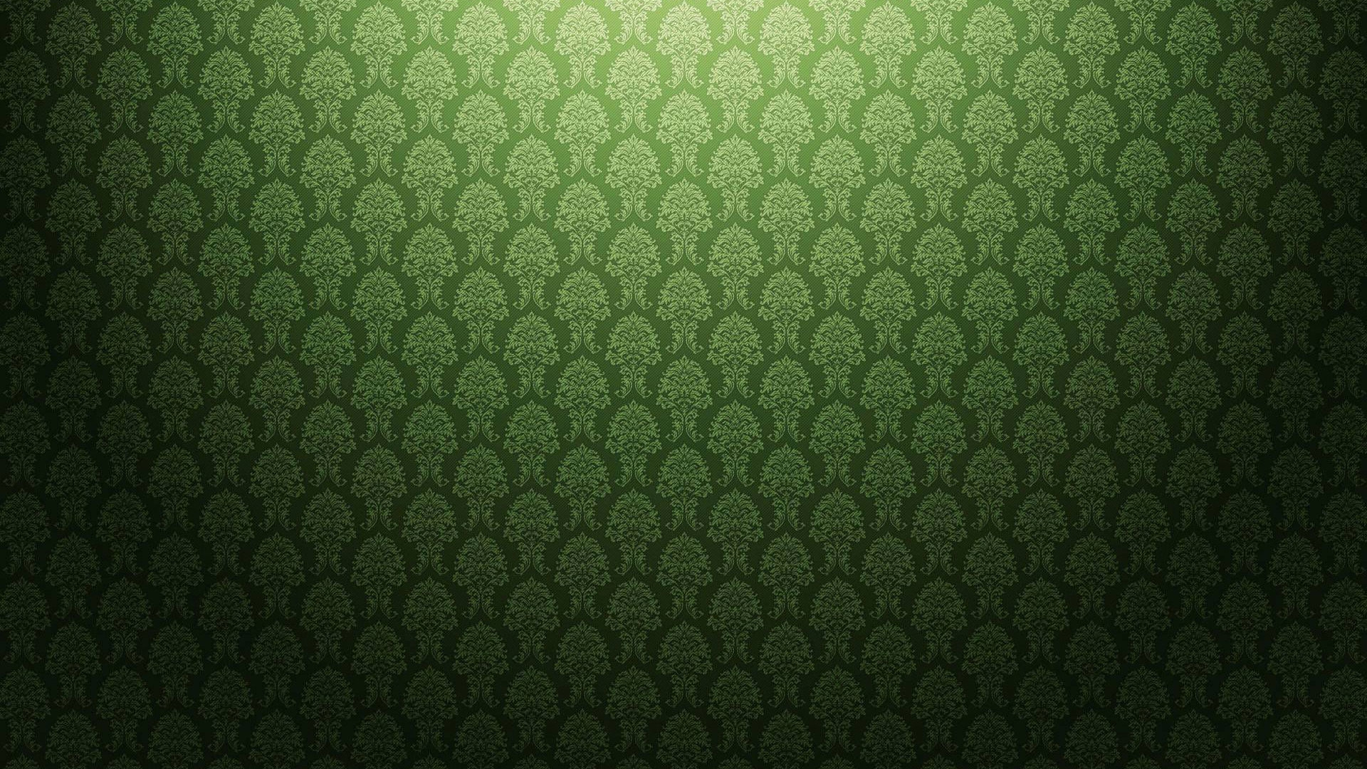 Green Floral HD wallpaper Pattern
