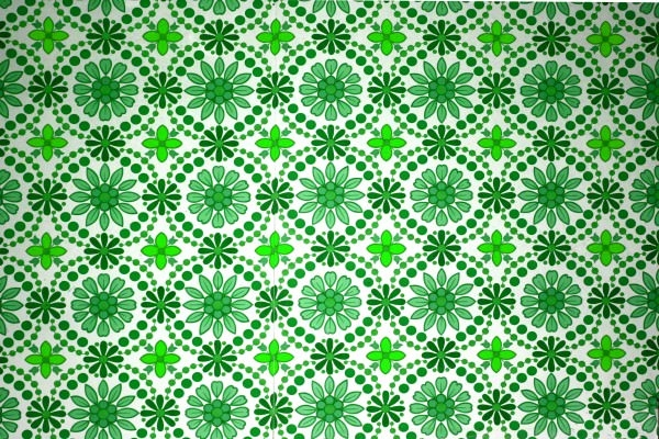 Green Flowers Wallpaper Textures