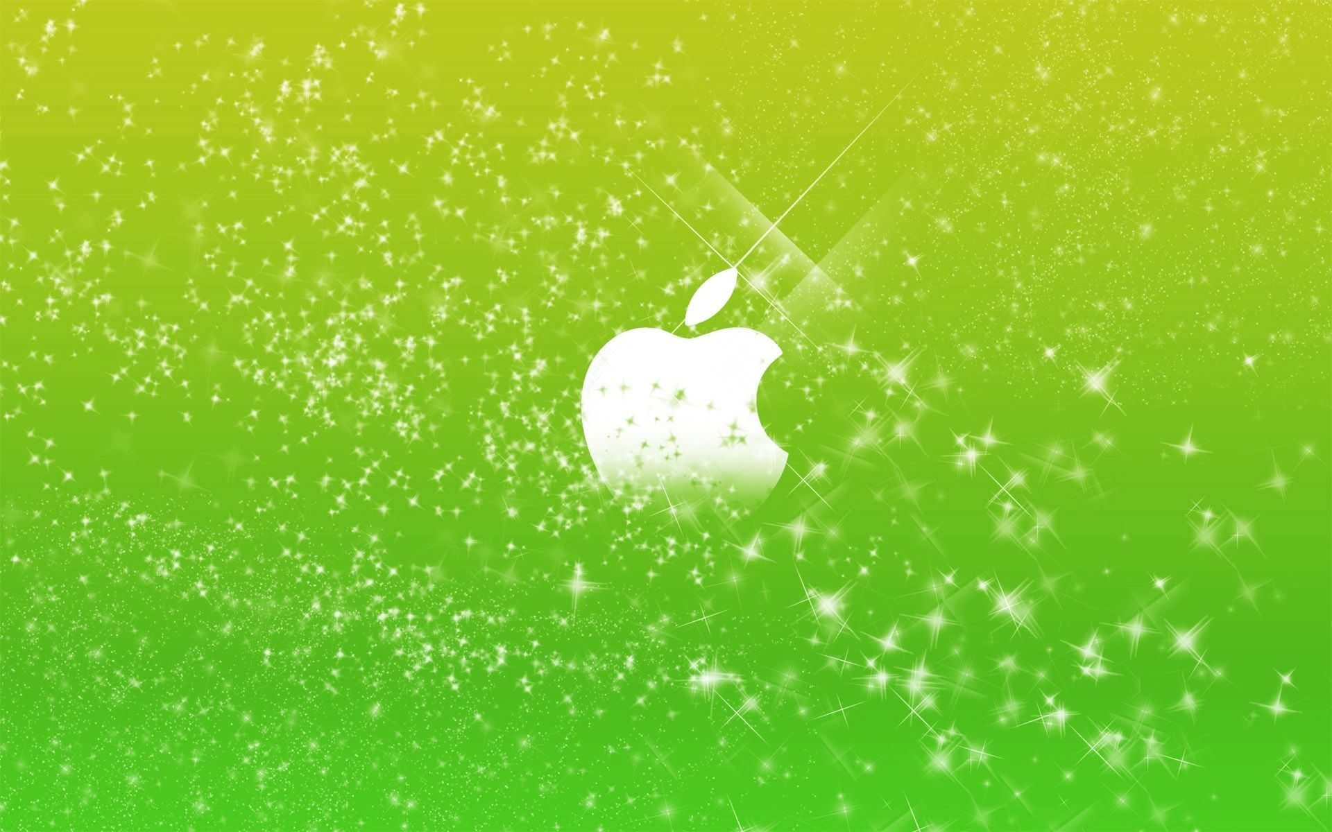 Green Glitter iPhone Background Wallpaper