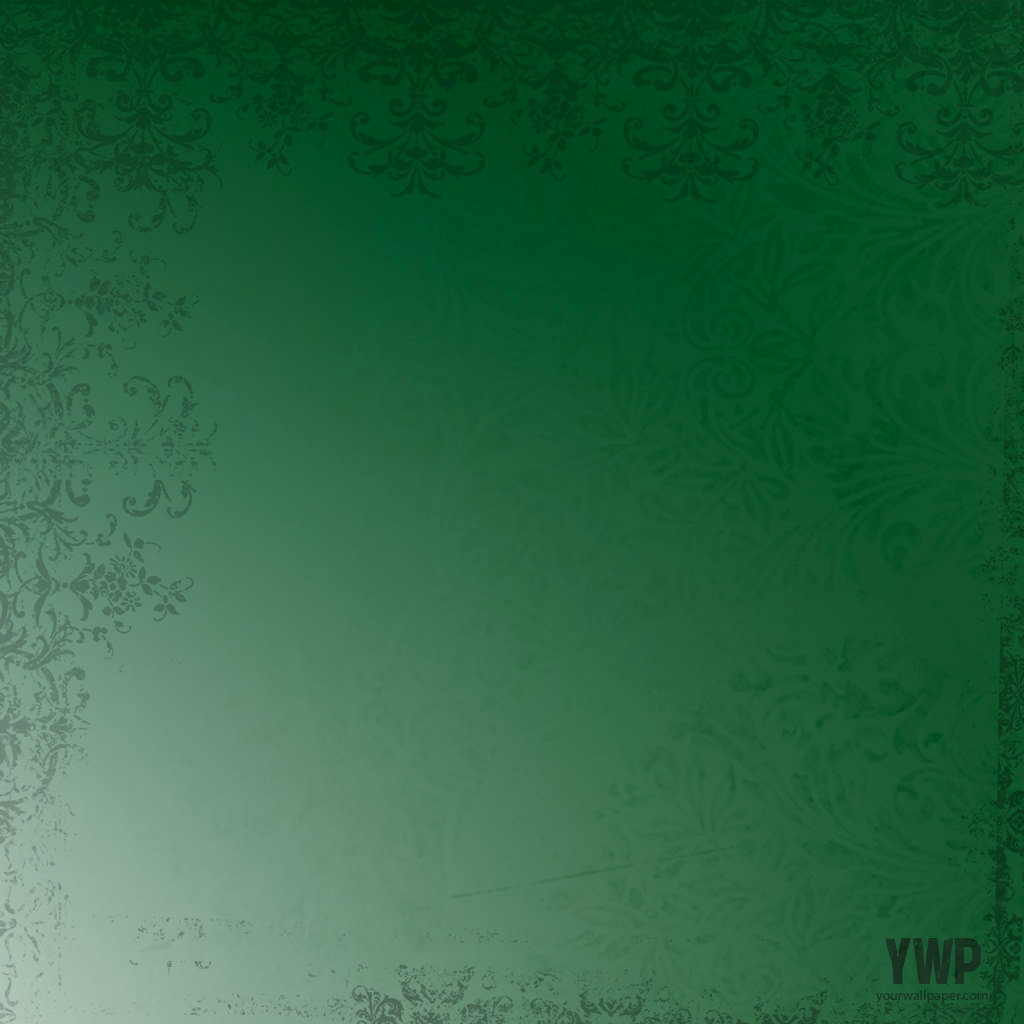 Green Patterns HD Victorian Background
