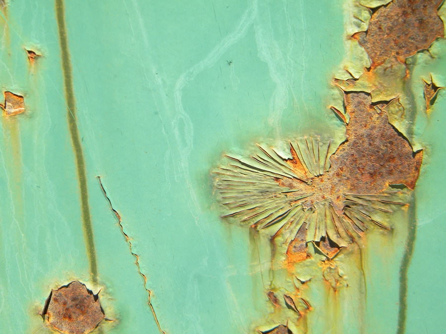 Green Rusty Texture