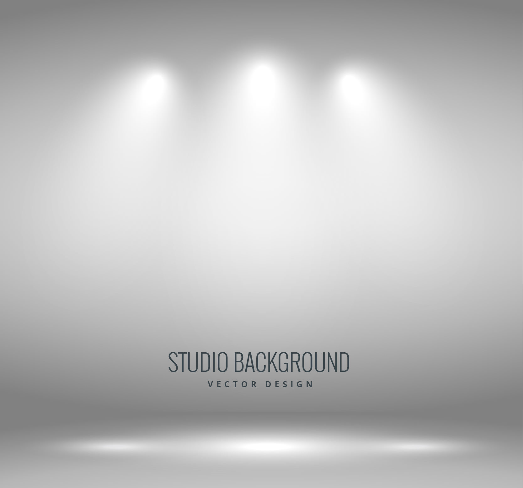 Grey Photography Studio Background Free Vector