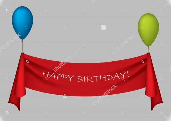 Hanging Birthday Banner