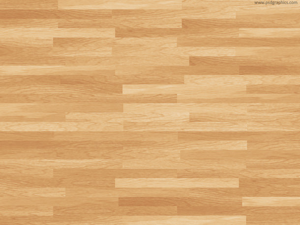 Hardwood Basketball Floor Background