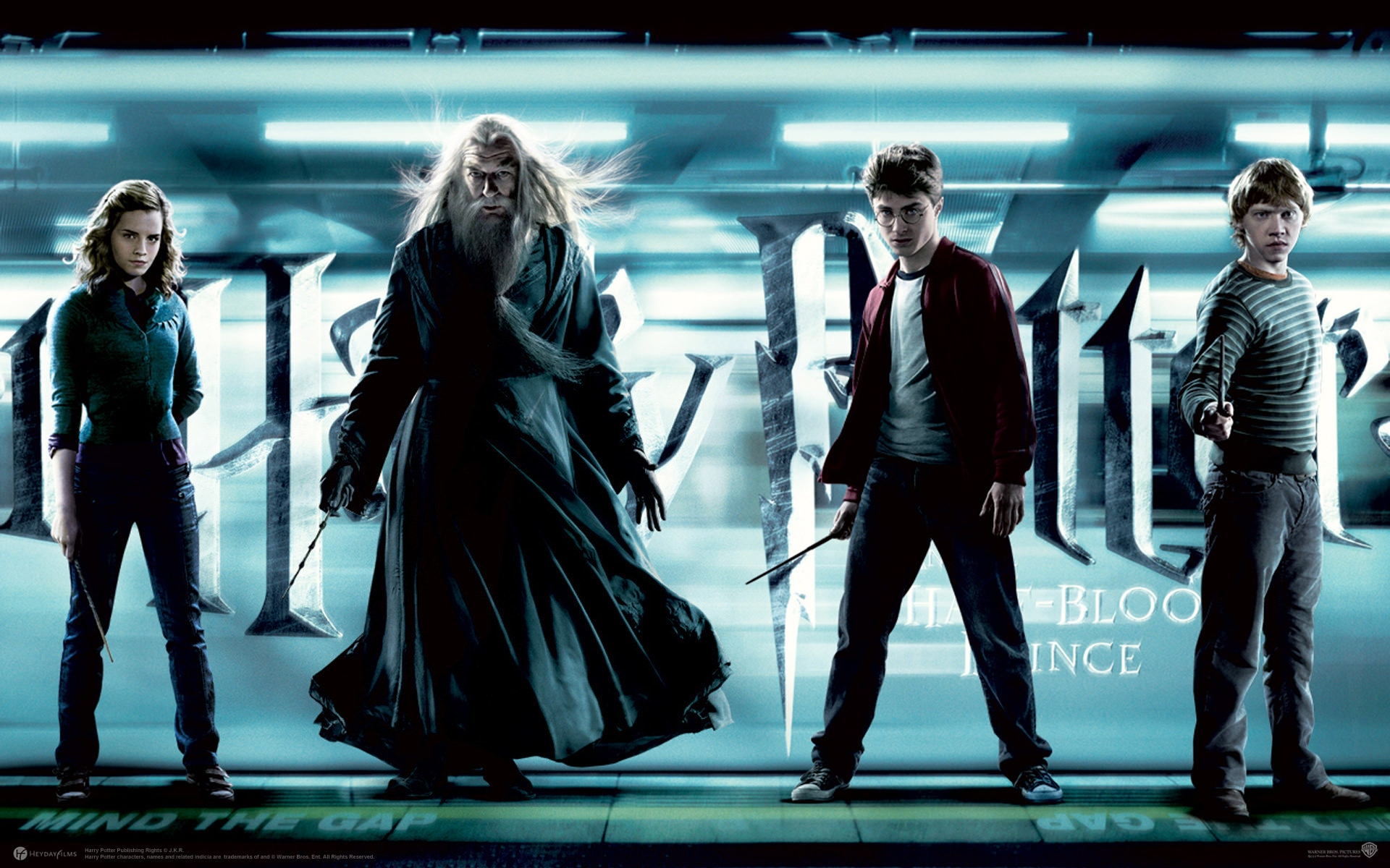 Harry Potter & the Half Blood Prince Wallpaper