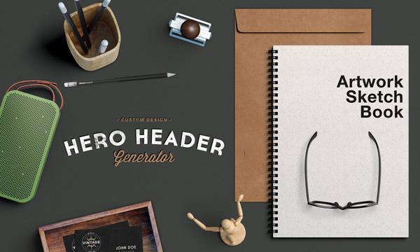 Hero-Header-Scene Mockup