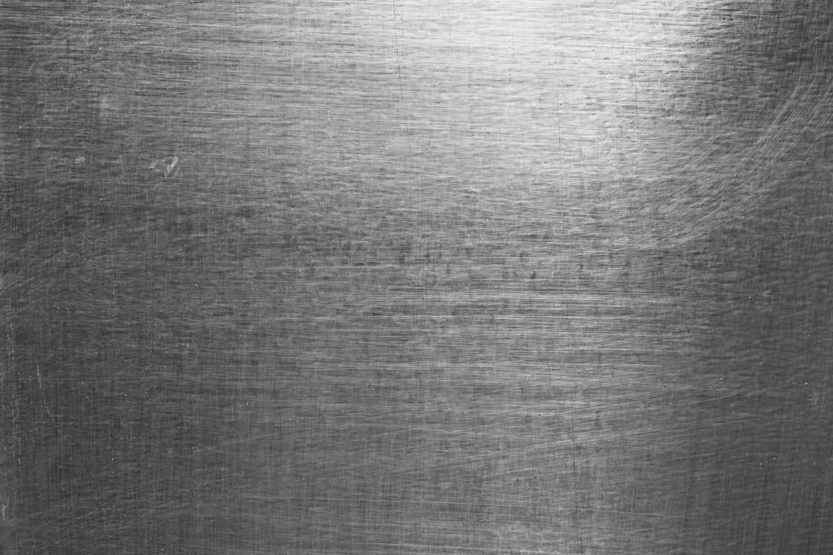 High Contrast Brushed & Scratched Metal Sheet Texture