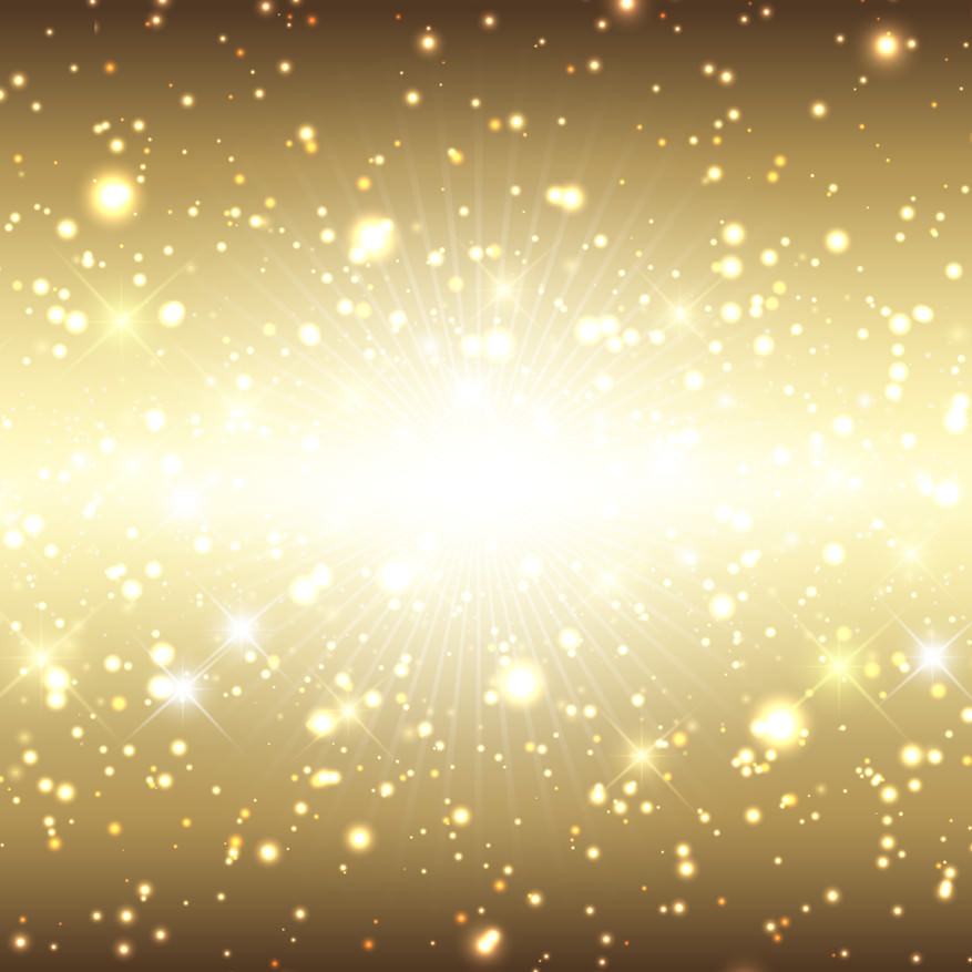 High Res Golden Sparkle Background