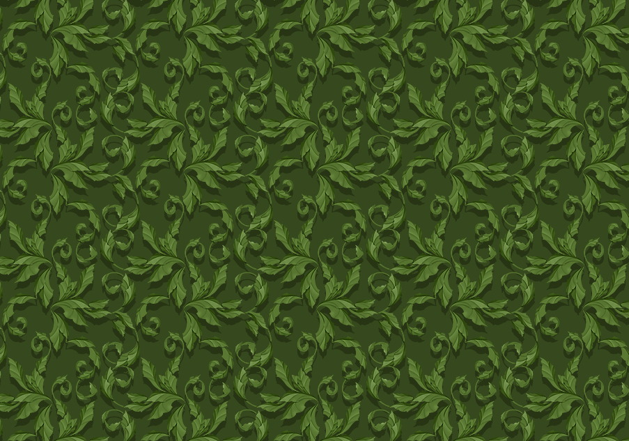 High Res Green Photoshop Jungle leaves Pattern Background
