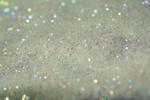 High Res White Glitter Background
