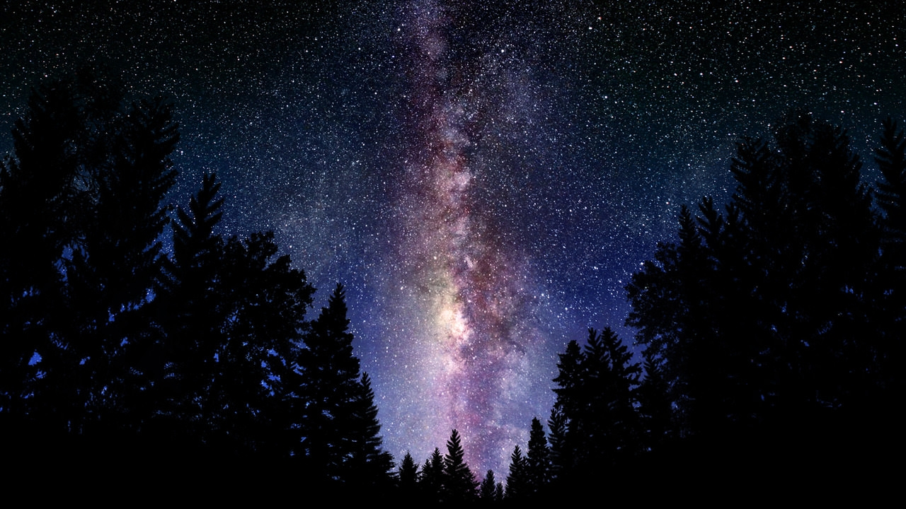 Hipster Galaxy Background