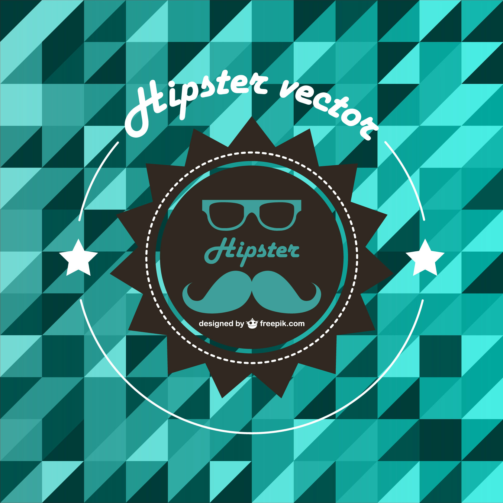 Hipster Style Free vector Background