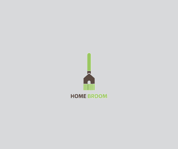 Home Broom Service Logo For Free
