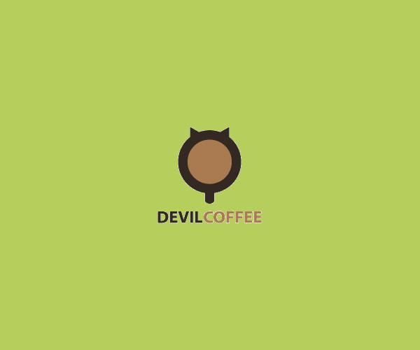 Horror Coffee Logo Design For Free