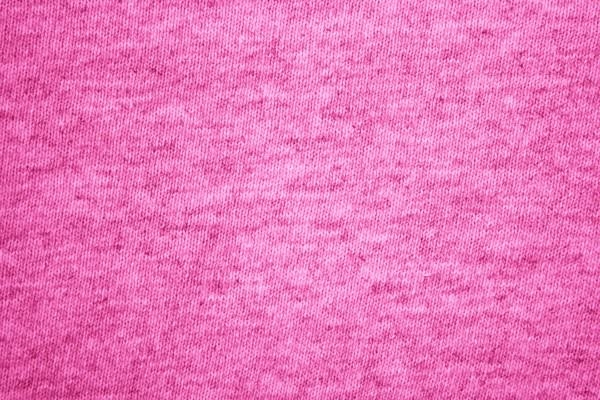 Hot Pink Knit T-Shirt Fabric Texture